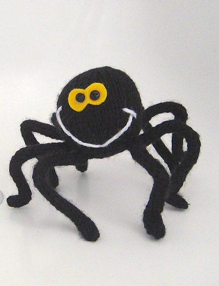 Free knitting pattern for Spidey spider toy