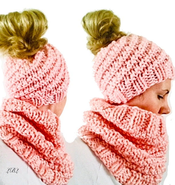 c096f6c09e4 Messy Bun and Ponytail Hat Knitting Patterns- In the Loop Knitting