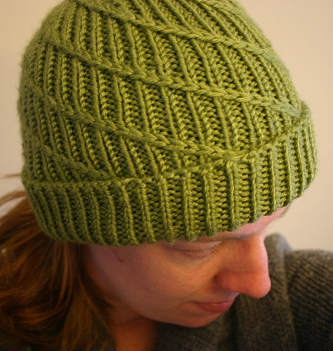 Swirl Hat Knitting Patterns- In the Loop Knitting 0b4c4b887f73