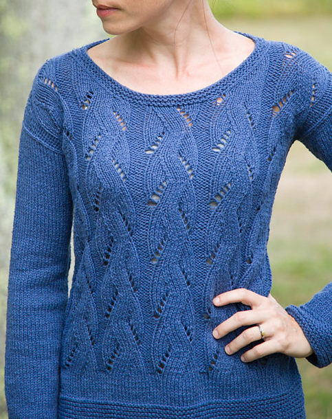 Free Knitting Pattern for Springtime Pullover