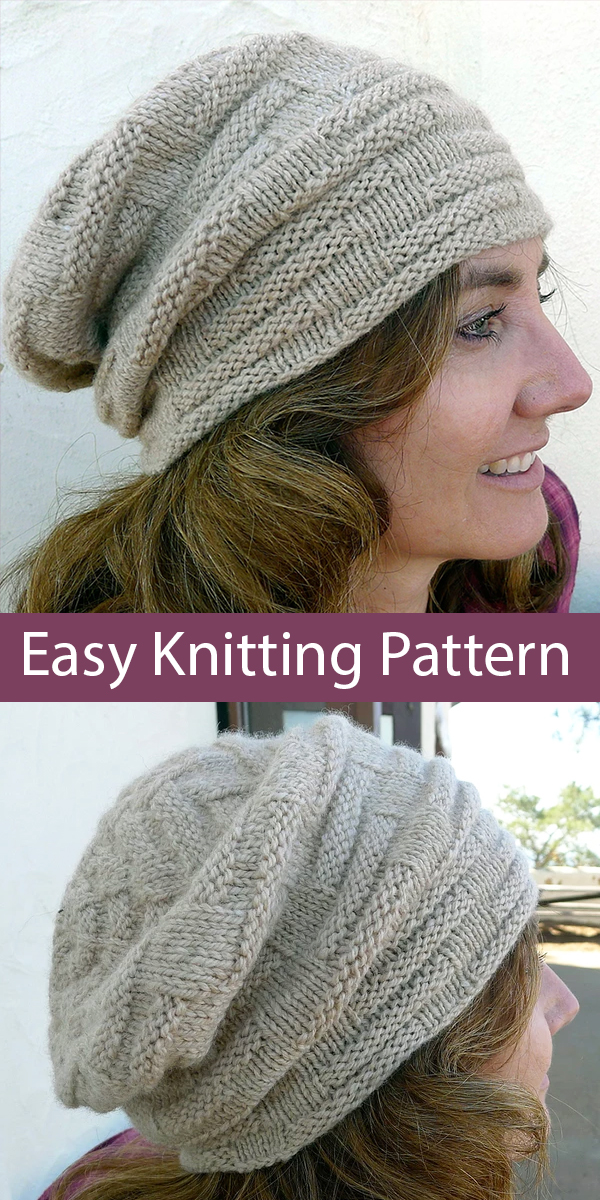 Easy Knitting Pattern for Squish Me Hap
