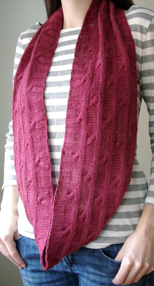 Knitting Pattern for Stagger Cowl