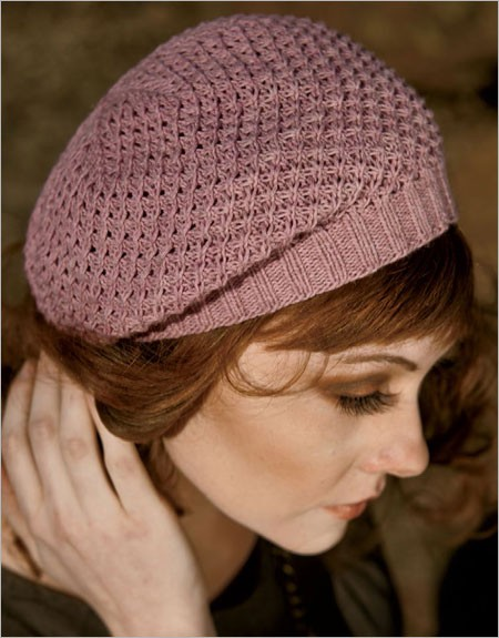 Knitting pattern for Star Stitch Beret and other slouchy beret knitting  patterns d7d6f22ab4d