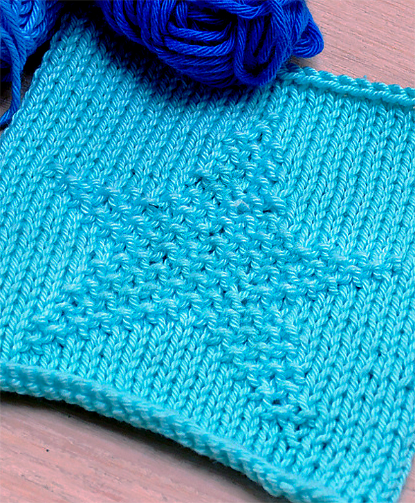 Free Knitting Pattern for Star Stitch
