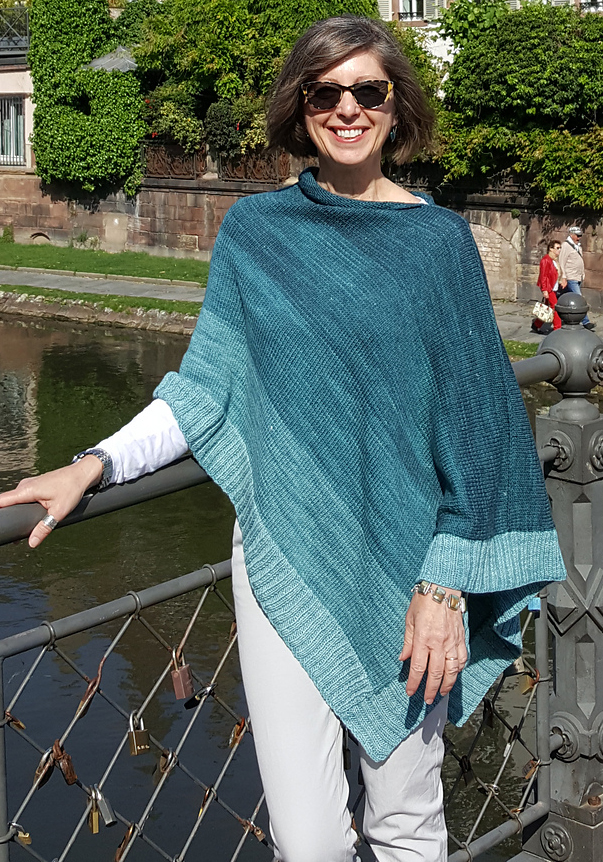 Free Knitting Pattern for Starboard Tack Poncho