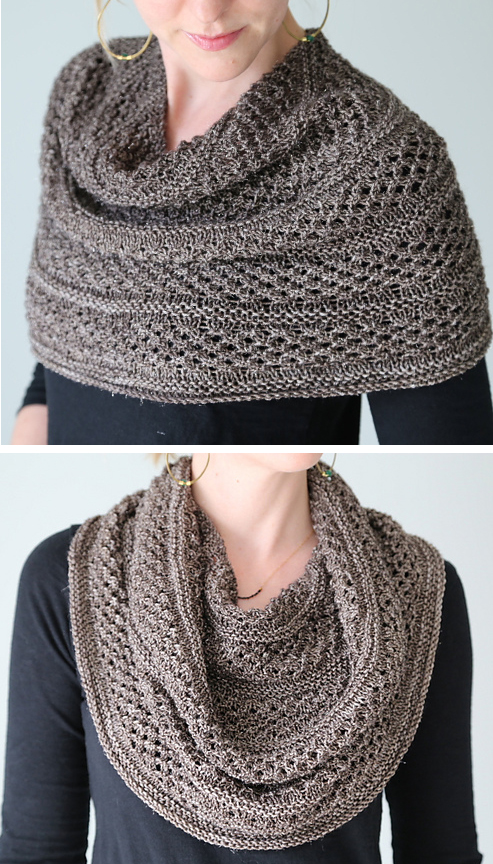 Shoulder Cozy Knitting Patterns- In the Loop Knitting