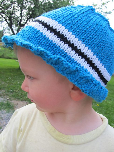 Free Knitting Pattern for Stature Hat