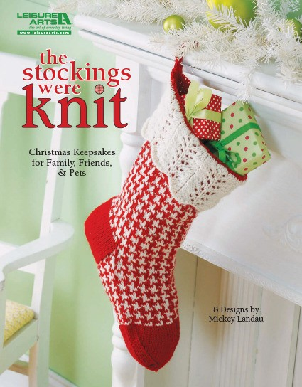 8 Knitting Patterns for Christmas Stockings - #ad The Stockings Were Knit eBook