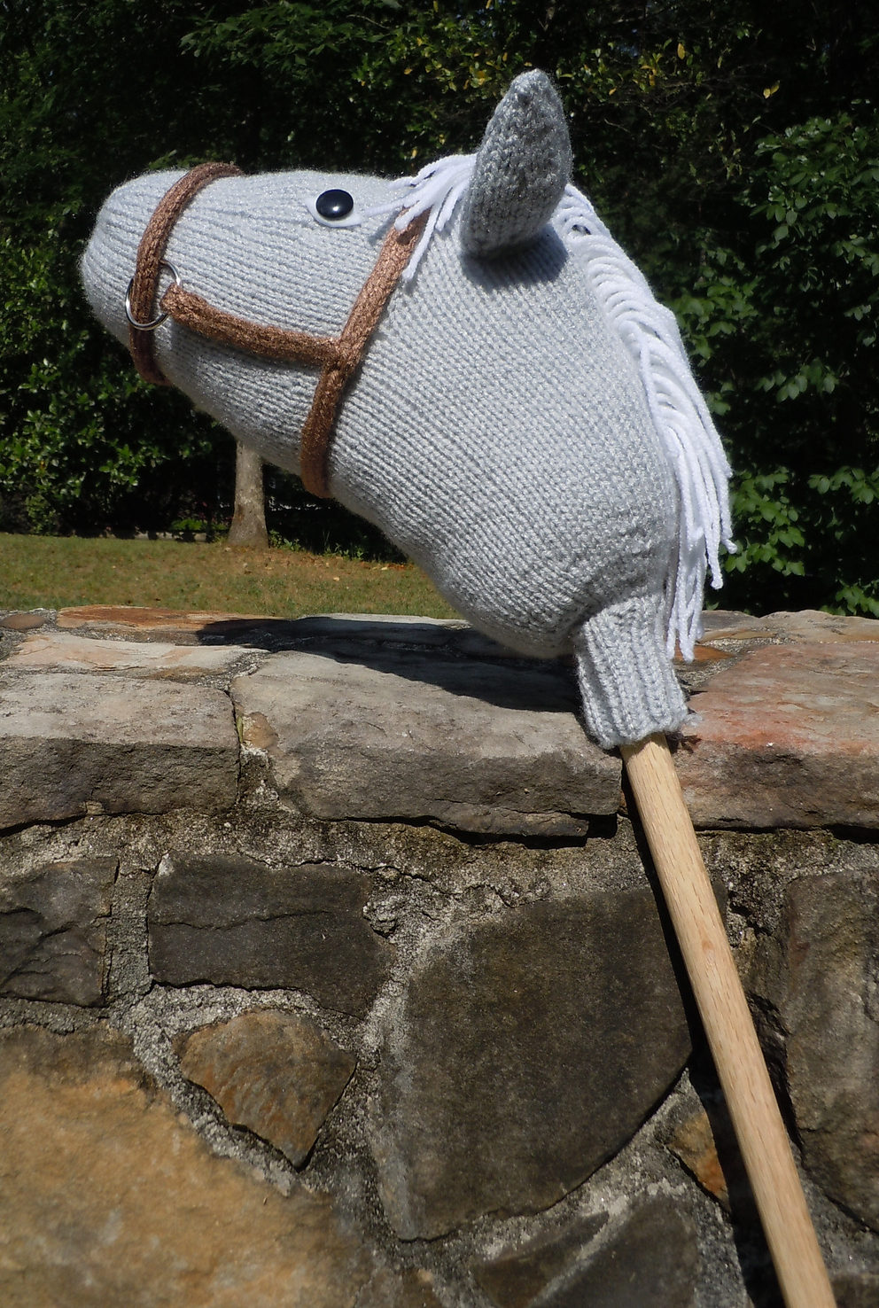 Free Knitting Pattern for Hobby Horse Stormy Dawn