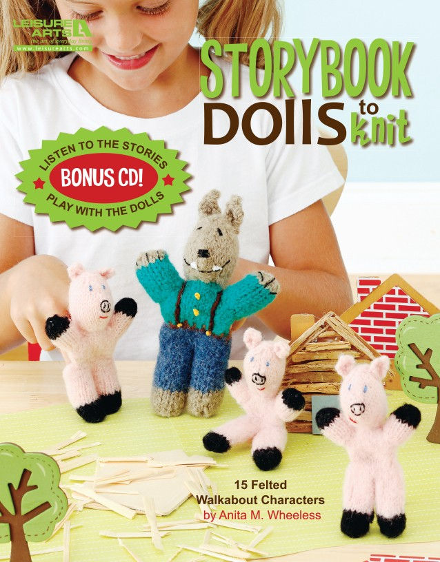 Storybook Dolls to Knit (CD Included)