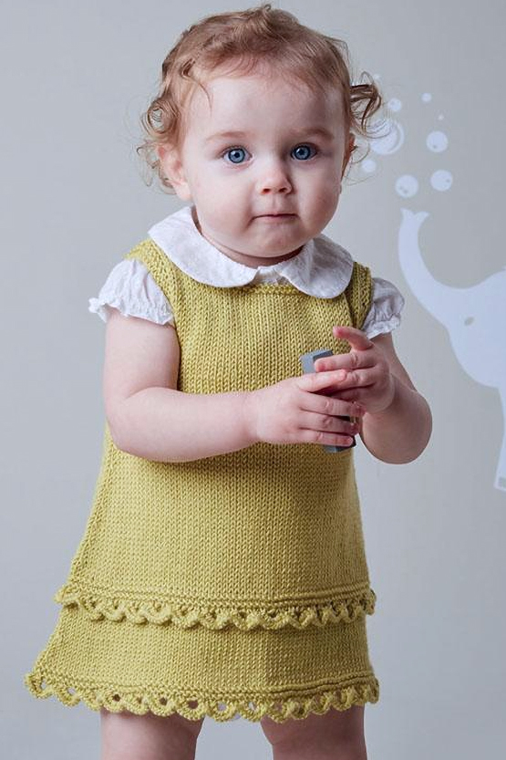 Dresses And Skirts For Babies And Children Knitting