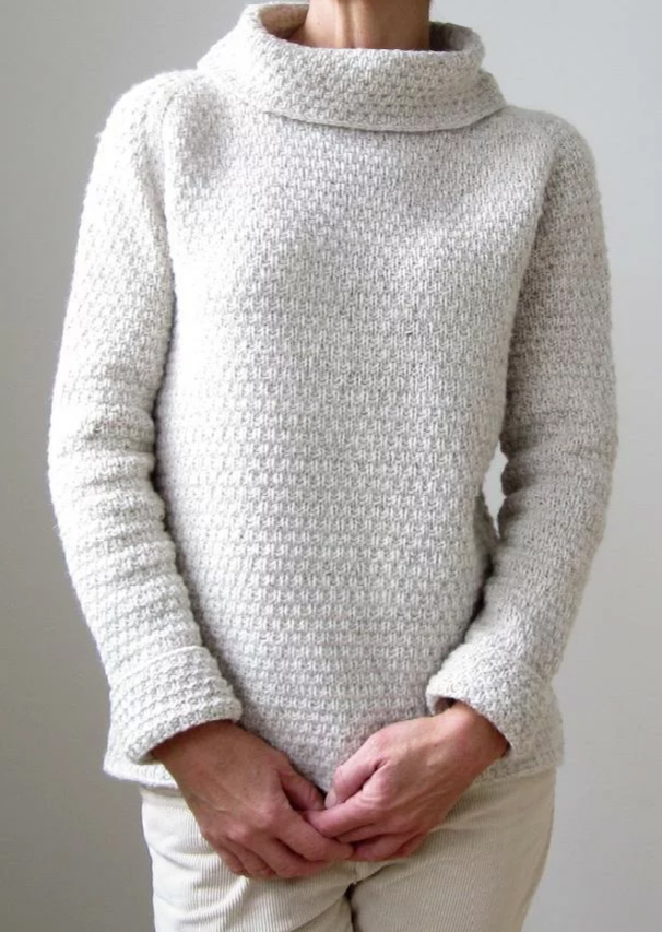 Knitting Pattern for Such a Winter's Day  Pullover
