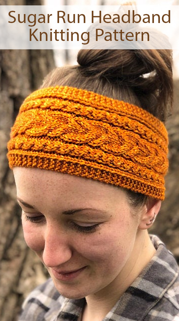 Kniting Pattern for Sugar Run Headband