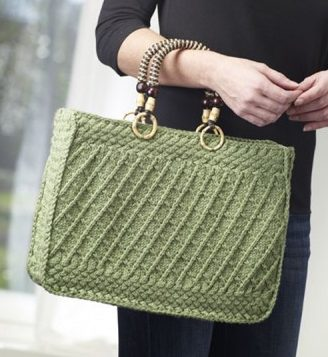 Free Knitting for Summer Breeze Tote