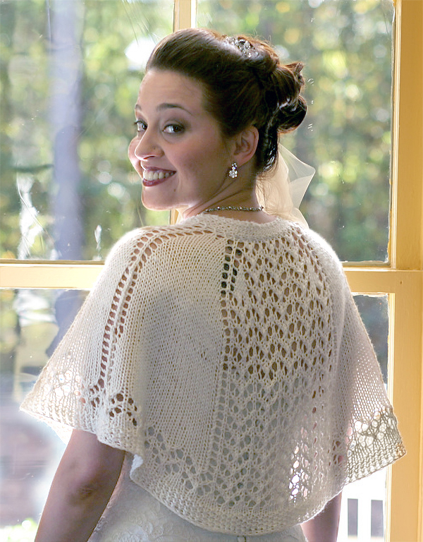 Free Knitting Pattern for Summer Shawlette