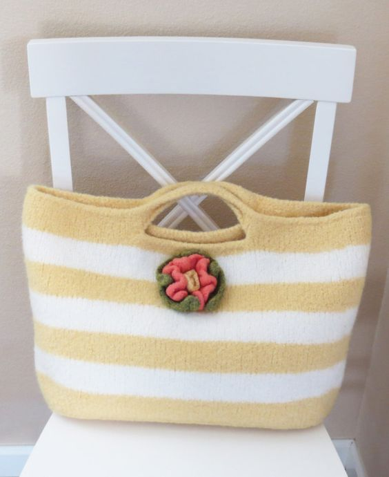 Knitting Pattern Summer Sun Bag