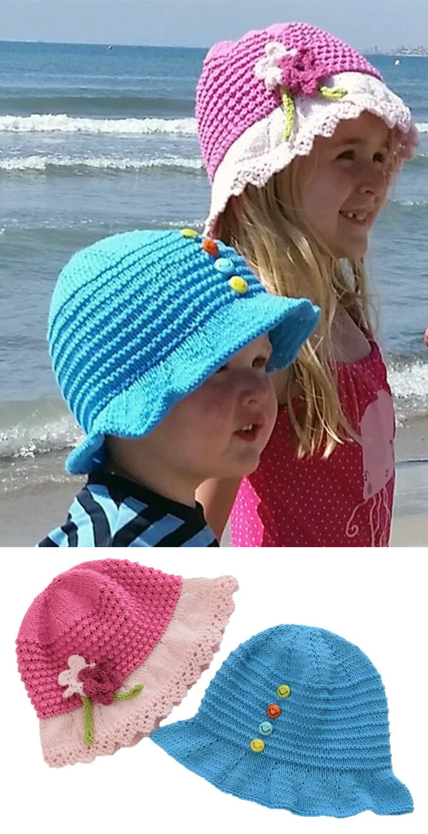 78ad5bbbf39 Baby Hats With Brims Knitting Patterns - In the Loop Knitting