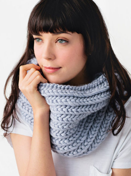Knitting Pattern for Super Snood