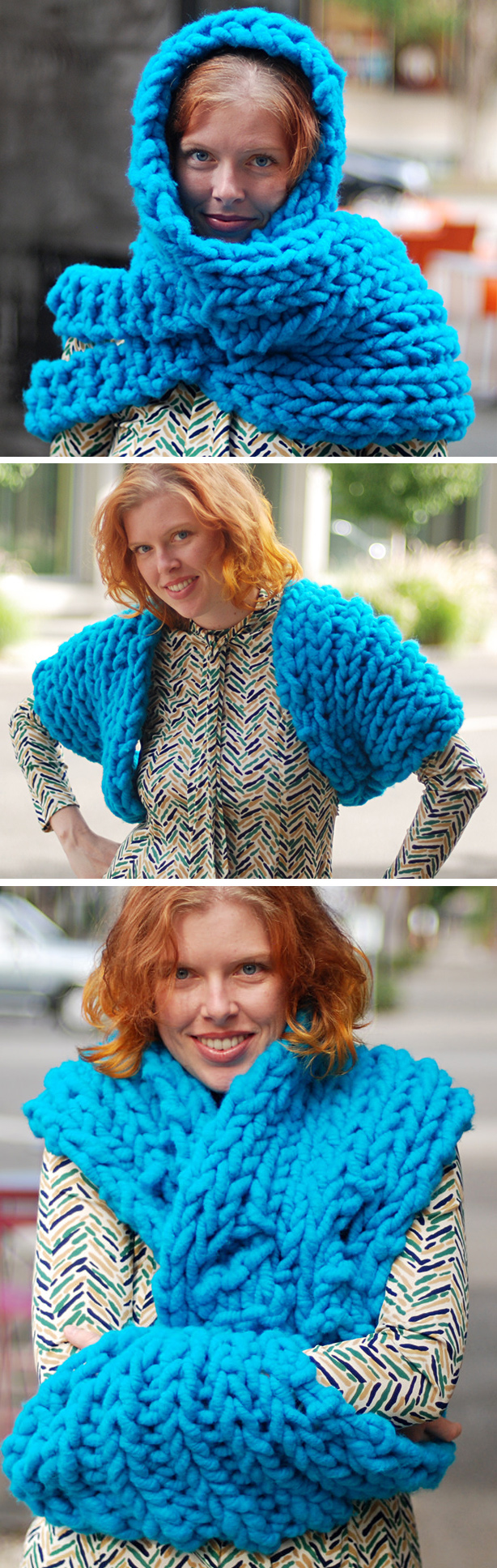 Free Knitting Pattern for Superduper Cowl