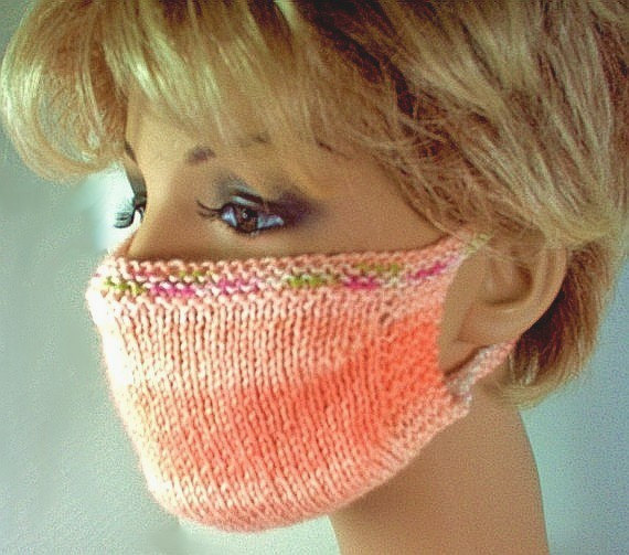 Surgical Mask Knitting Pattern