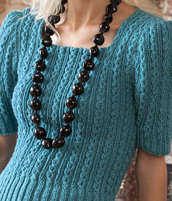Free Knitting Pattern for Sweater Girl