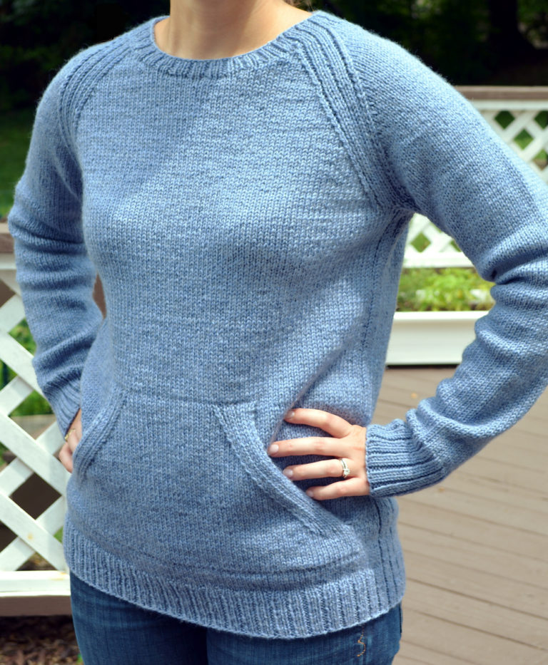 Free Knitting Pattern for Sweatshirt Sweater