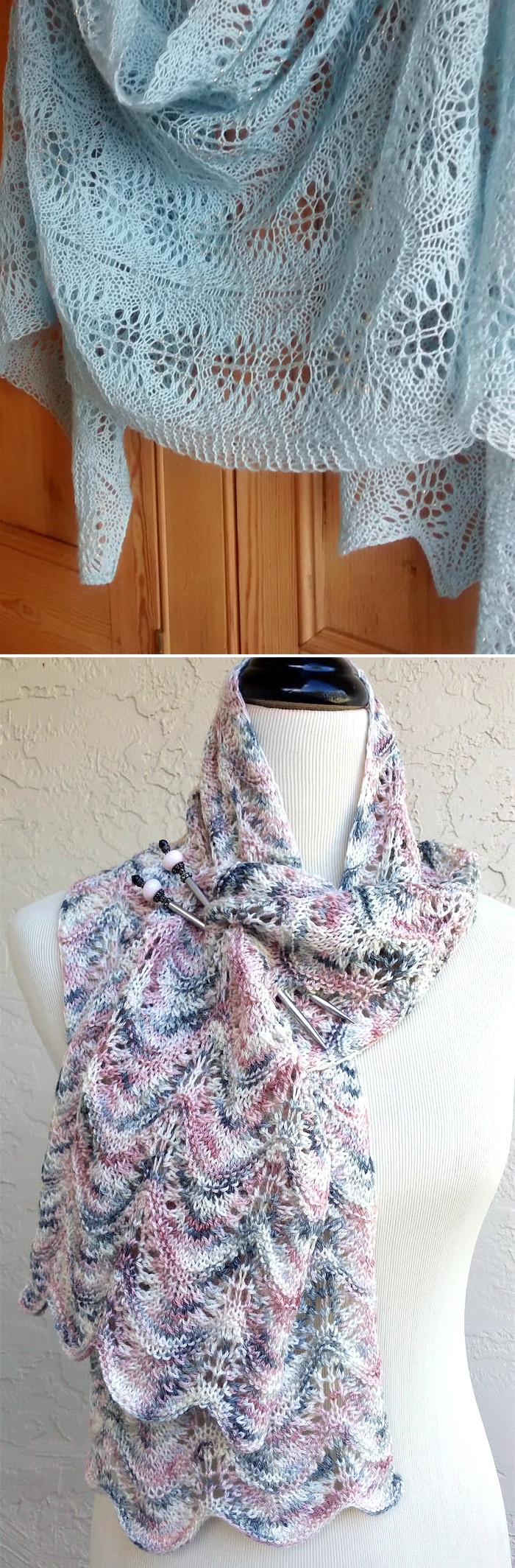 Free Knitting Pattern for Easy Swell Scarf