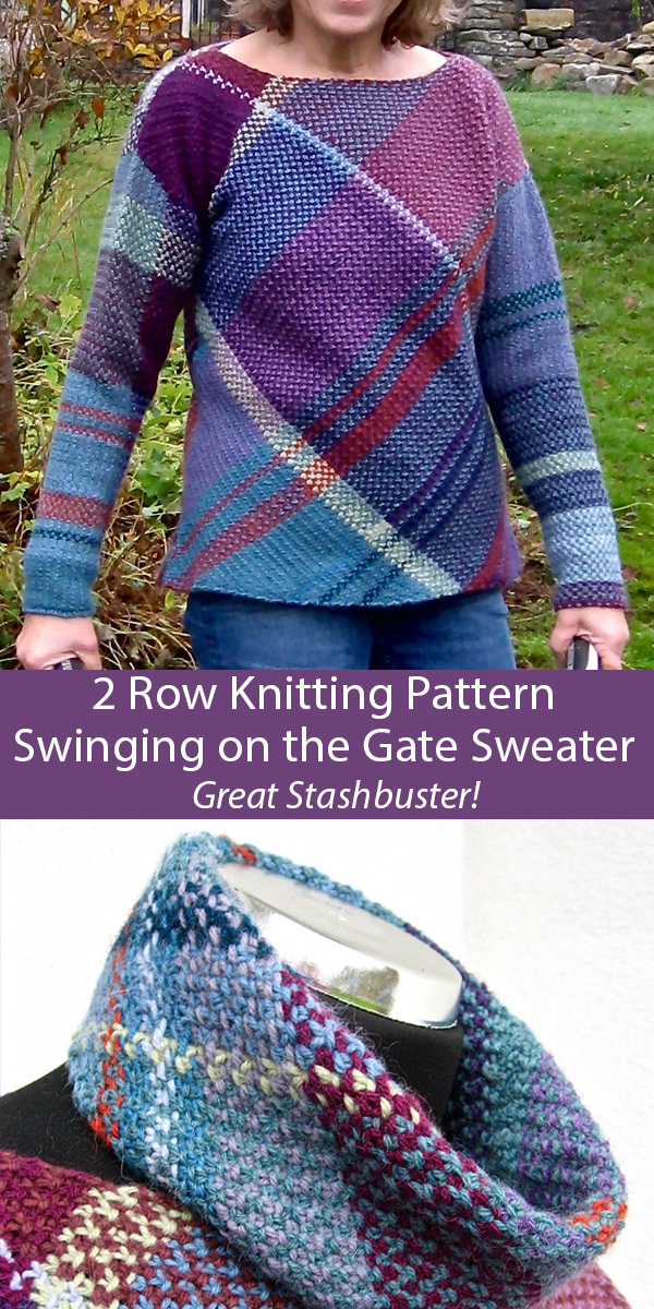 Knitting Pattern for Swinging on the Gate Sweater