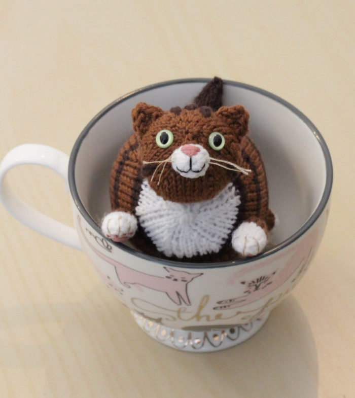 Free Knitting Pattern for Wub Chub Cat