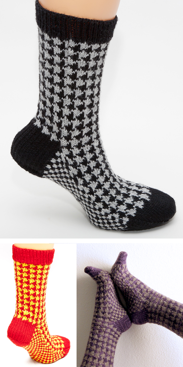 Knitting Pattern for Talbot Socks