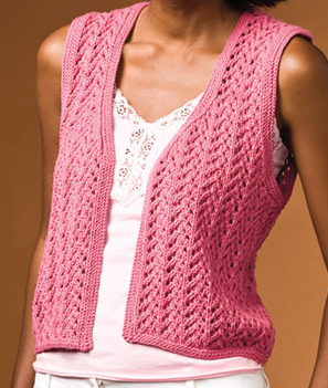 Knitting Pattern for Tampa Vest