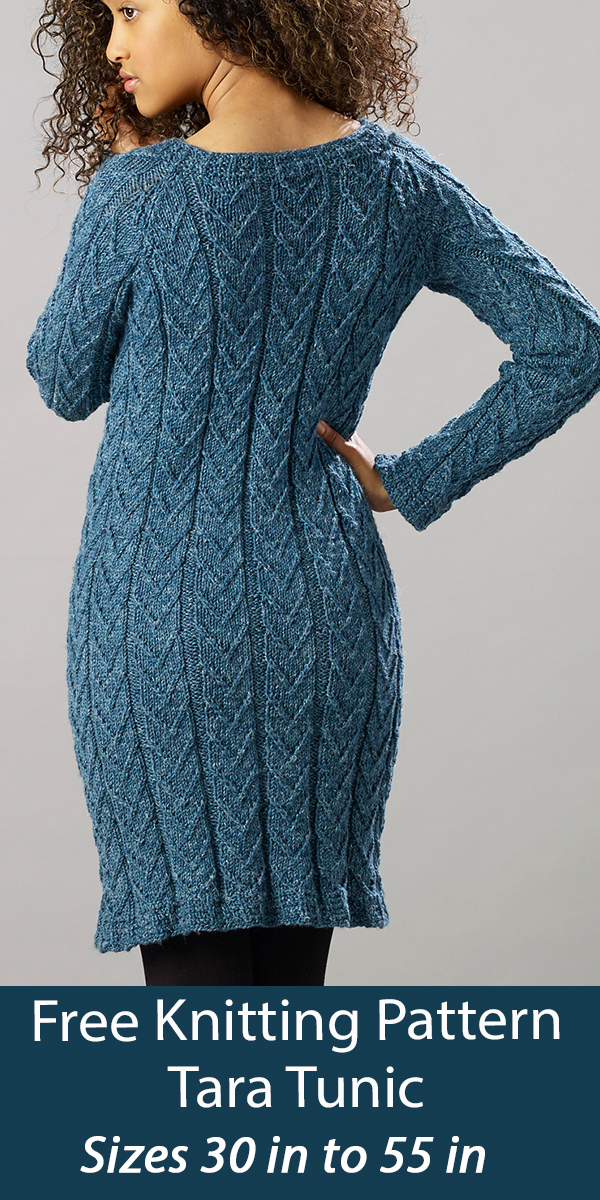 Free Sweater Knitting Pattern Tara Tunic