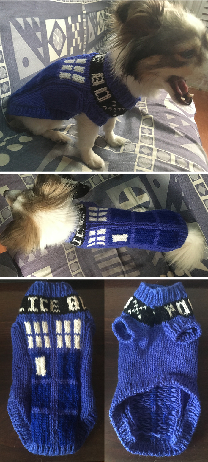 Doctor Who Knitting Patterns - In the Loop Knitting