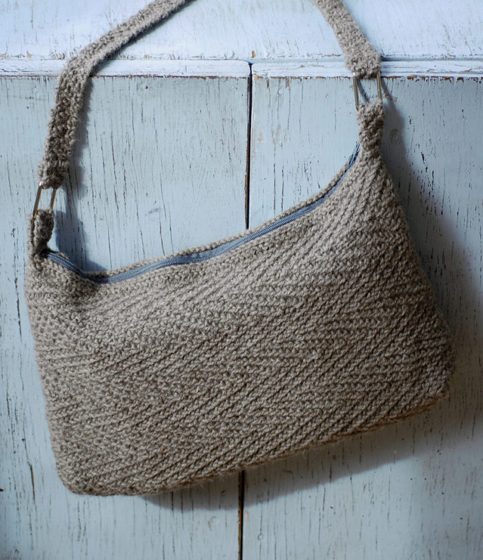 Free Knitting Pattern for Tasa Purse