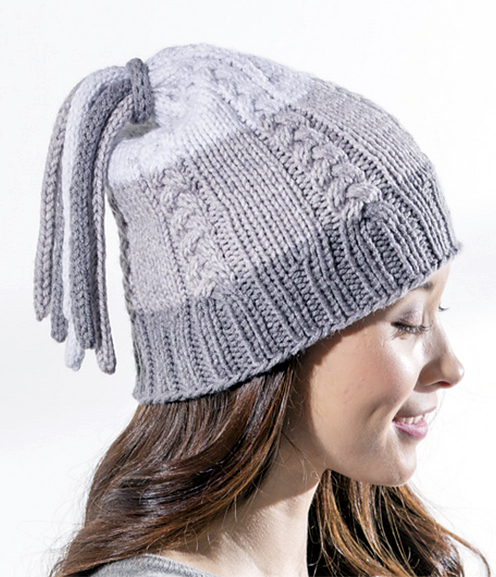 Free Knitting Pattern for Tassel Hat
