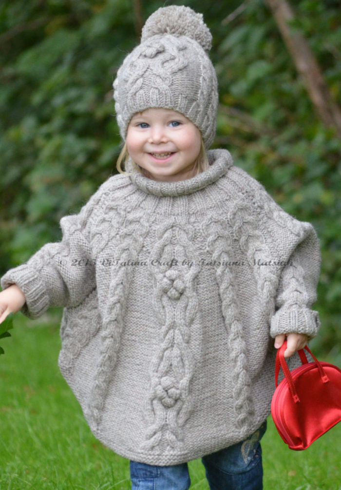 Knitting Pattern for Temptation Poncho