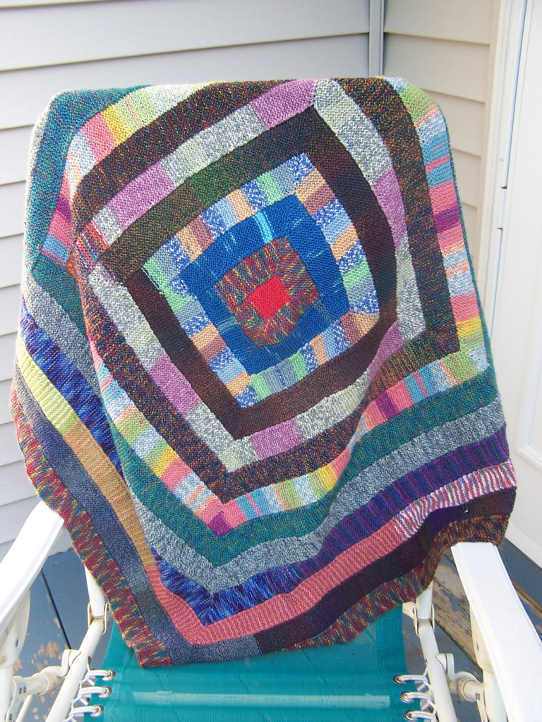 Free Knitting Pattern for Ten Stitch Blanket