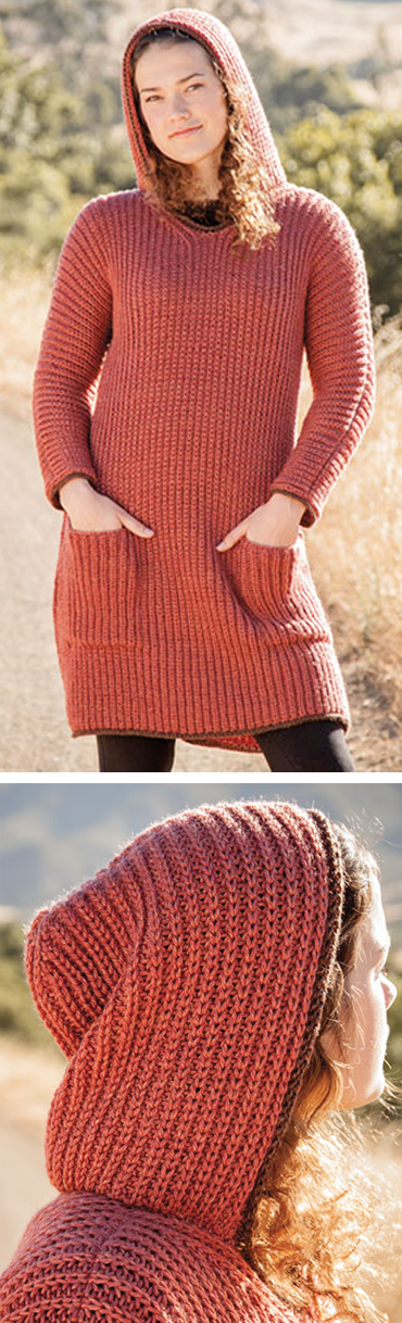 Knitting Pattern for Tenaya Tunic