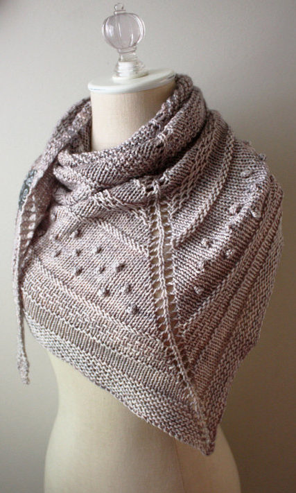 Knitting Pattern for Texelle Shawl