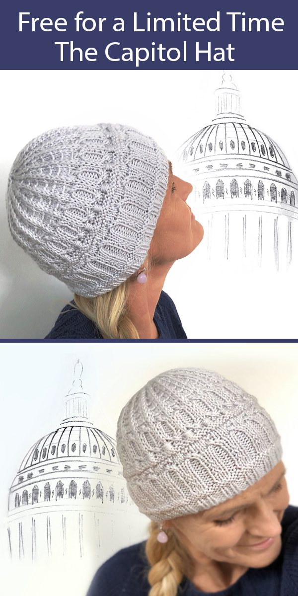 Knitting Pattern for The Capitol Hat