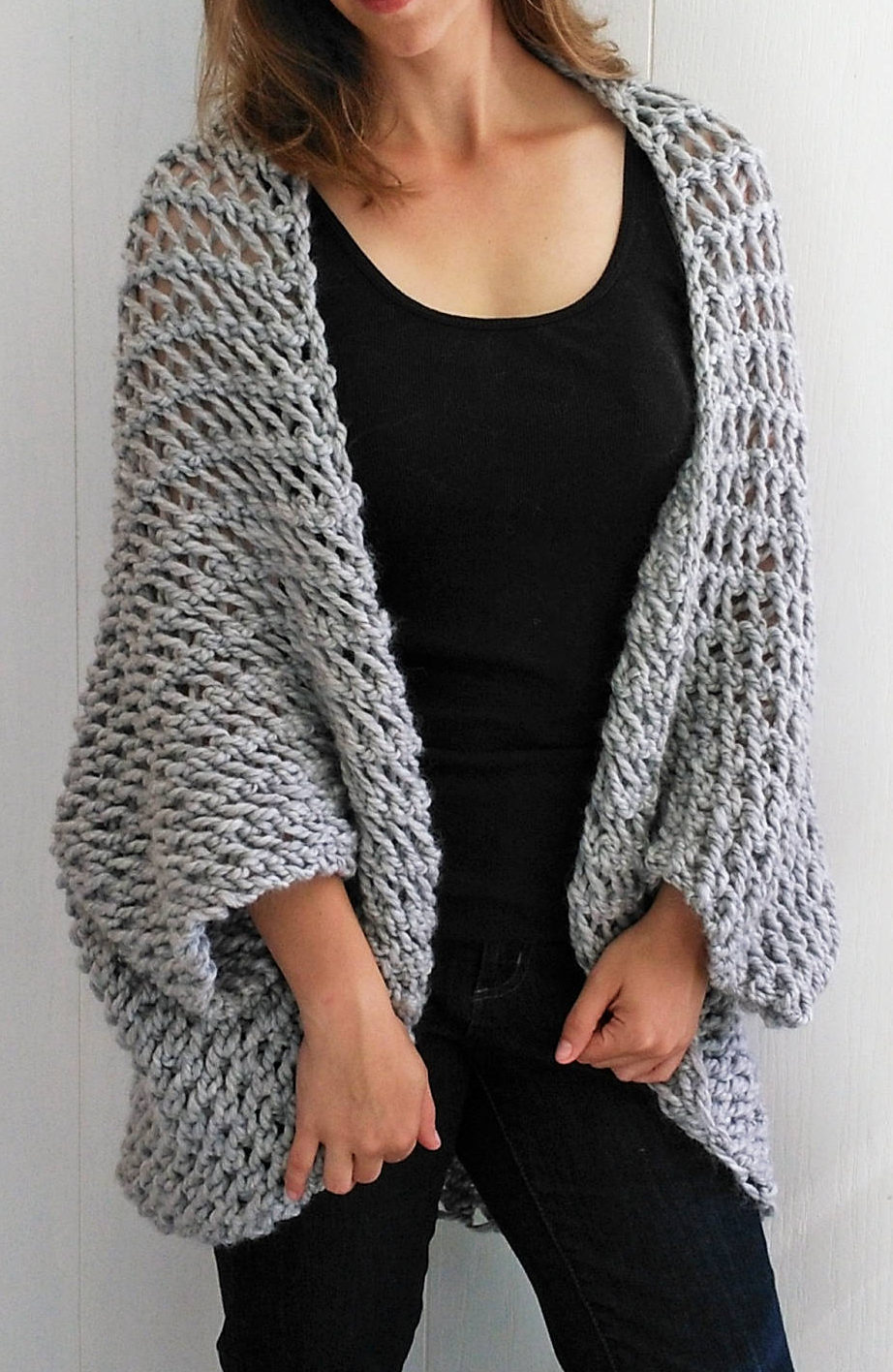 Easy Cardigan Knitting Patterns In The Loop Knitting