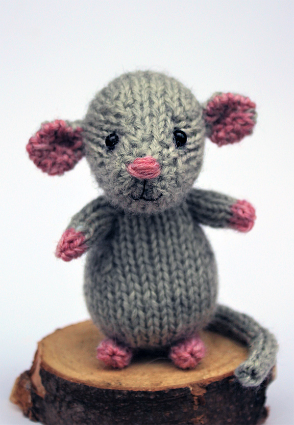 Free until January 25, 2020 Knitting Pattern for The Year of the Rat Amigurumi
