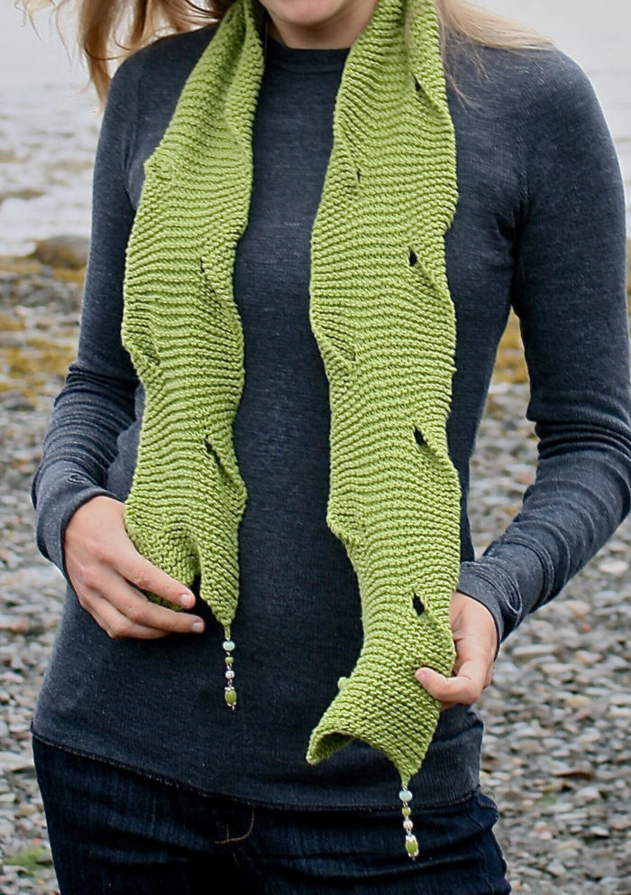 Knitting Pattern for Tidal Cove Scarf