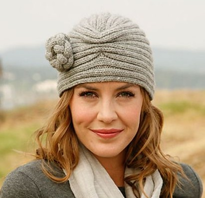 Tiffany turban style hat free knitting pattern