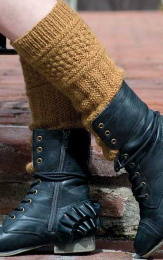 Knitting Pattern for Tilly Boot Cuffs