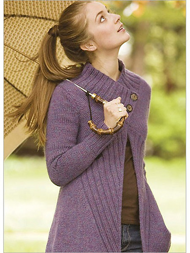Tilted Duster Cardigan Knitting Pattern and more cardigan sweater knitting patterns
