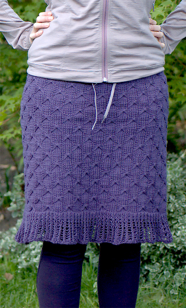 Free Knitting Pattern for Touché Skirt