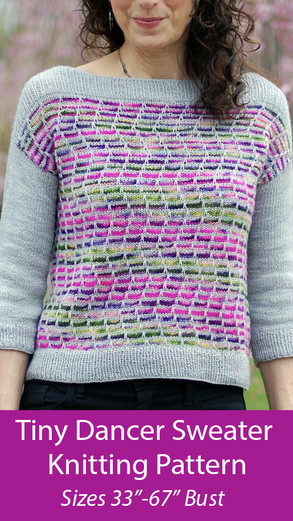 Knitting Pattern for Tiny Dancer Sweater