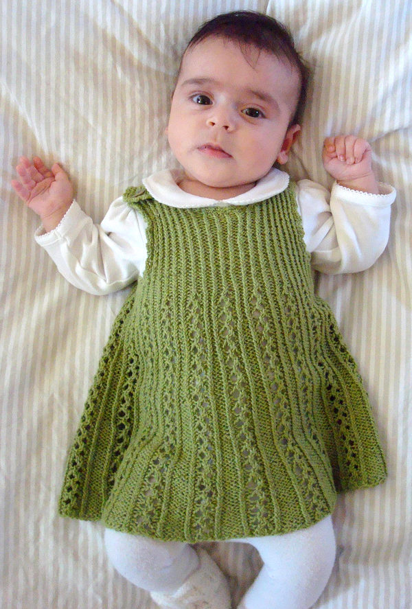 9acac836775f Dresses and Skirts for Babies and Children Knitting Patterns - In ...