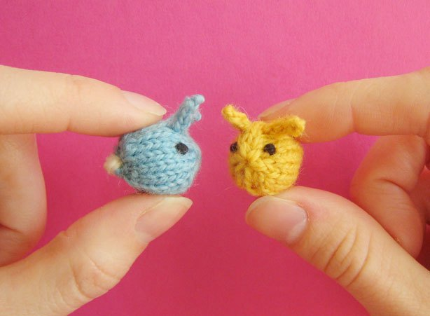 Tiny Baby Bunnies Free Knitting Pattern | Free Quick Easter Knitting Patterns at http://intheloopknitting.com/free-quick-easter-knitting-patterns